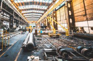 Curățare echipamente industria grea